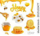 3d realistic vector set with... | Shutterstock .eps vector #2015132477
