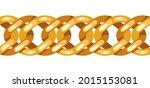 seamless pattern golden chain.... | Shutterstock .eps vector #2015153081