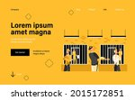 criminals and guards in state... | Shutterstock .eps vector #2015172851