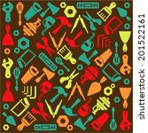 hand tools equipment icon... | Shutterstock .eps vector #201522161