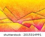 orange and pink grunge glossy... | Shutterstock .eps vector #2015314991