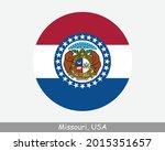 missouri round circle flag. mo... | Shutterstock .eps vector #2015351657