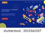 industrial internet of things...   Shutterstock .eps vector #2015362337