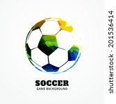 Vector Football Design Art...