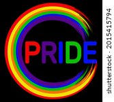 rainbow circle. symbol for lgbt ...   Shutterstock .eps vector #2015415794