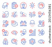 medical icons set. included...   Shutterstock .eps vector #2015456381