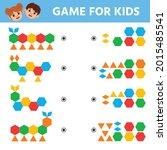 education logic game for...   Shutterstock .eps vector #2015485541
