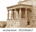 The Iconic Caryatid Porch Of...