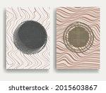 modern poster with minimalist...   Shutterstock .eps vector #2015603867