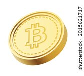 3d isometric cryptocurrency... | Shutterstock .eps vector #2015621717