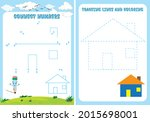 educational puzzle game for... | Shutterstock .eps vector #2015698001