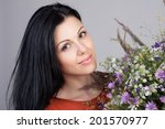 close up portrait of an young... | Shutterstock . vector #201570977