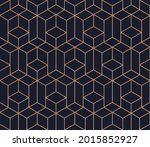 vector seamless geometric... | Shutterstock .eps vector #2015852927