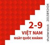 happy vietnam independence day...   Shutterstock .eps vector #2015892434