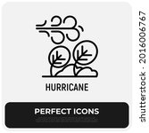 hurricane  storm  tornado ... | Shutterstock .eps vector #2016006767