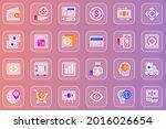 money web glassmorphic icons...