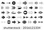 arrows vector big set of...