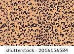 abstract modern leopard... | Shutterstock .eps vector #2016156584