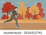 guy or man in sportswear... | Shutterstock .eps vector #2016311741