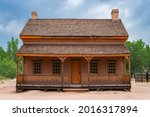 Old Wooden Building In...
