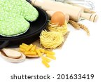 supplies and ingredients for... | Shutterstock . vector #201633419