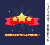 game ui pop up reward   ribbon...