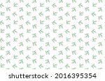 green tree branch seamless...   Shutterstock .eps vector #2016395354