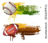 sports banners | Shutterstock .eps vector #201639911