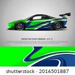 racing car wrap design vector... | Shutterstock .eps vector #2016501887
