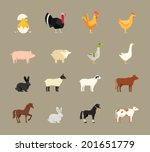 agricultural,agriculture,animals,beef,birds,breeding,cartoon,chicken,cock,cow,dairy,different,draft,duck,ewe