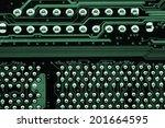 computer mainboard | Shutterstock . vector #201664595