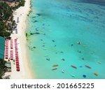 Beach In Guam Island  Usa ...
