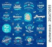 vector illustration   set of... | Shutterstock .eps vector #201673055