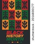 black history month. african...   Shutterstock .eps vector #2016830177