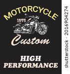 custom motorbike vintage...   Shutterstock .eps vector #2016904274