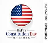 constitution day of the united...   Shutterstock .eps vector #2016907241