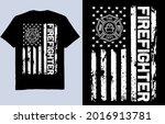 firefighter   american flag t...   Shutterstock .eps vector #2016913781