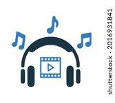 music  sound  audio icon....   Shutterstock .eps vector #2016931841