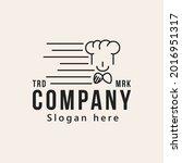 chef  restaurant logo design...   Shutterstock .eps vector #2016951317