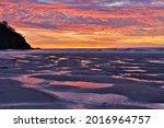 Sunser On The Central Oregon...