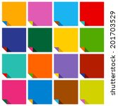 Set Of 16 Blank Squares With...