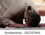 Young Muslim Man Making...