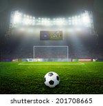 on the stadium. abstract... | Shutterstock . vector #201708665