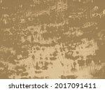 brown sand draw. grunge rough...   Shutterstock . vector #2017091411