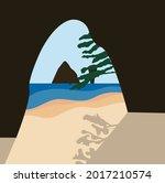 Sand Beach Background.eps 10...