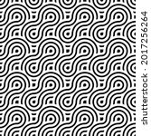 overlapping circles pattern....   Shutterstock .eps vector #2017256264