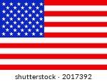 america flag | Shutterstock . vector #2017392