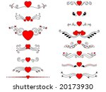 valentine decorative header... | Shutterstock .eps vector #20173930