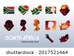 south africa heritage day icon...   Shutterstock .eps vector #2017521464