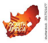 south africa map heritage day   Shutterstock .eps vector #2017521677